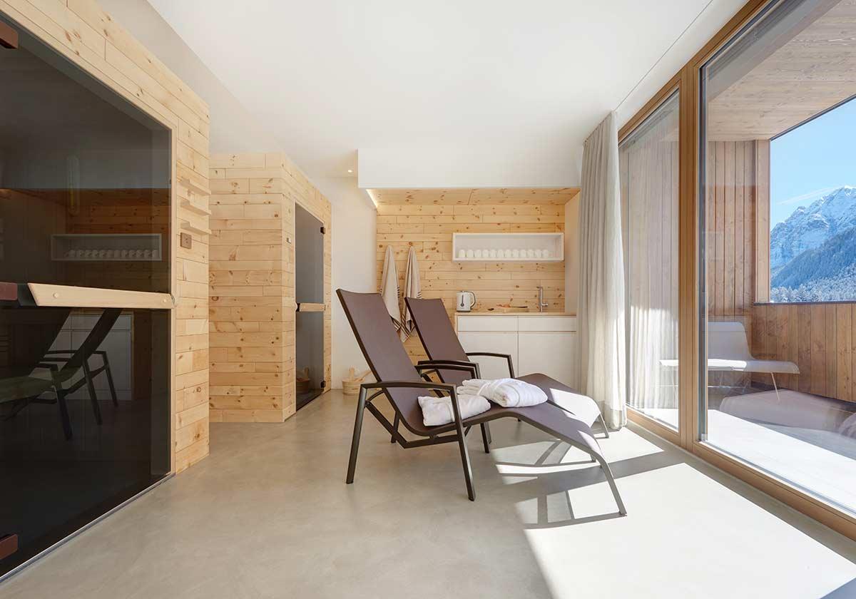 Indoor Sauna Skikeller Mehr Living Nature