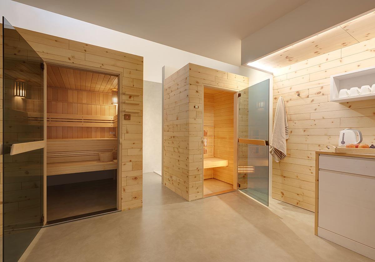 indoor sauna skikeller mehr living nature. Black Bedroom Furniture Sets. Home Design Ideas